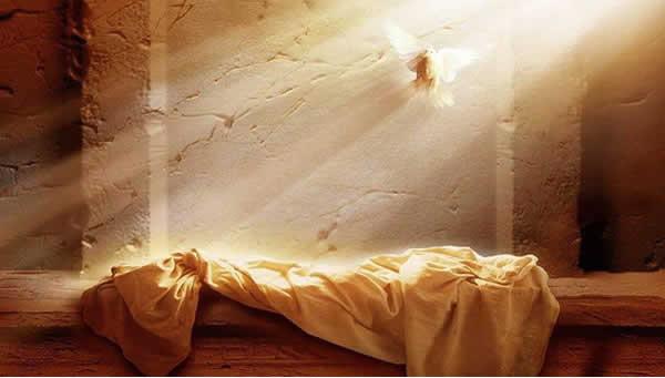 墓から消えて復活したイエス