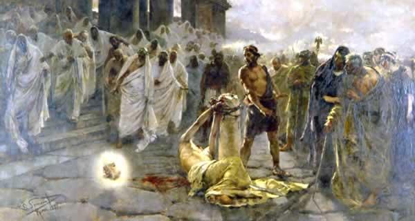 迫害を受けるイエスの弟子たち