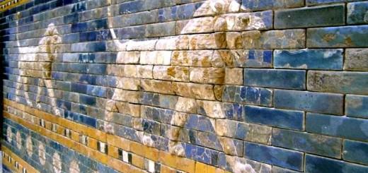 イシュタル門の壁絵