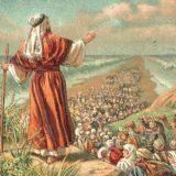 モーセに率いられ紅海を渡るイスラエル人