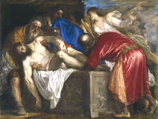 死体の引取を願い出たアリマタヤのヨセフ