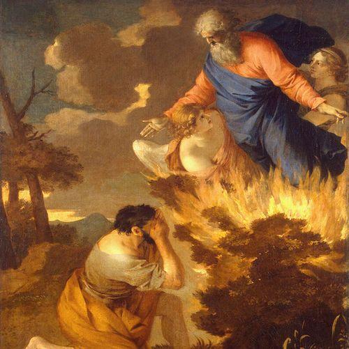 モーセに出現したヤハウェ