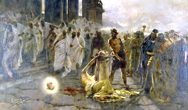 鞭打ちを受ける使徒パウロ