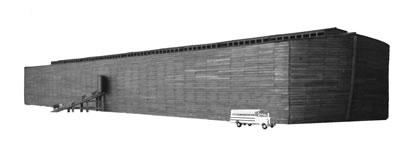 箱船の大きさは、全世界的洪水の場合にのみ理にかなっています。