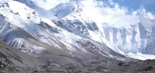 エベレストで発見される化石