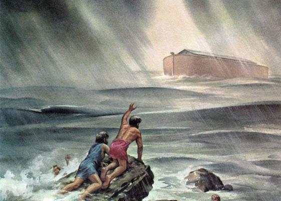 人の子が来るのは、ちょうど、ノアの日のようだからです。