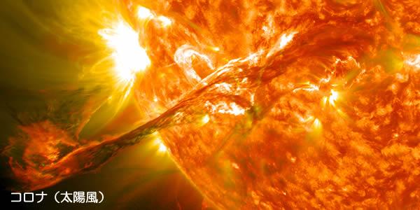 太陽風 コロナ