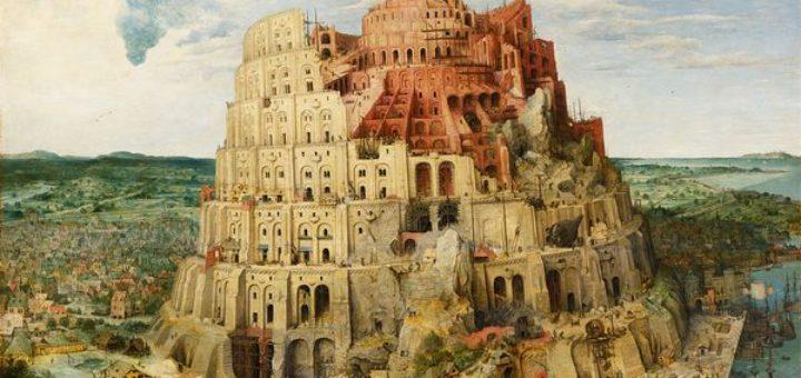 ニムロデが建設したバベルの塔halloween_babel