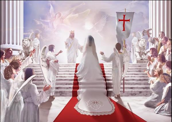 子羊との結婚 携挙はキリストが教会を迎えに来る時