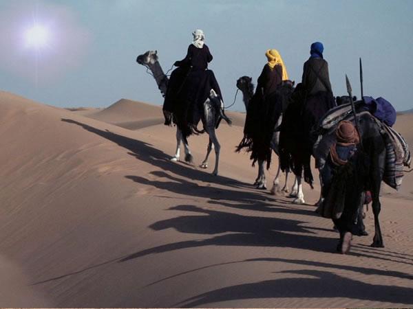 東方の博士たち、エルサレムへの道のり