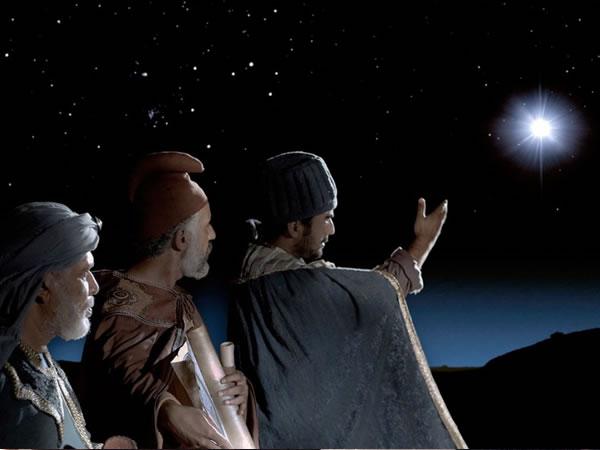 東方の博士たち、メシアの星
