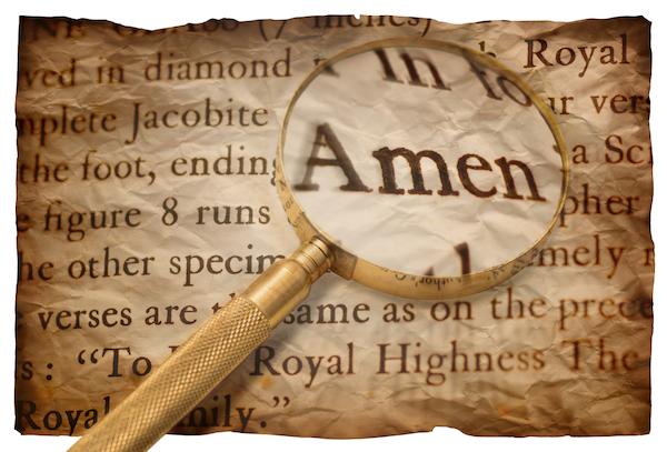 「アーメン」の意味は何ですか? その言葉はイエスについて何を明らかにしていますか